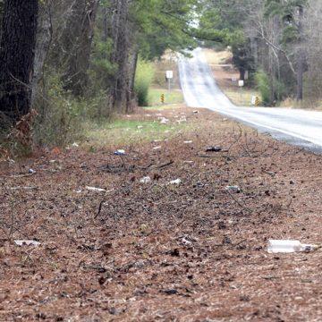 Hoke County is drowning in trash