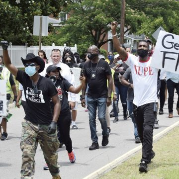 Peaceful protests call for reform