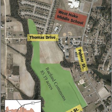 Subdivision behind West Hoke Middle up for Raeford leaders' consideration