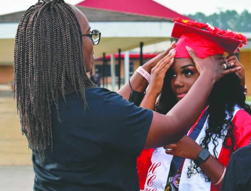Hoke High Class of 2021 walks the stage at graduation ceremony