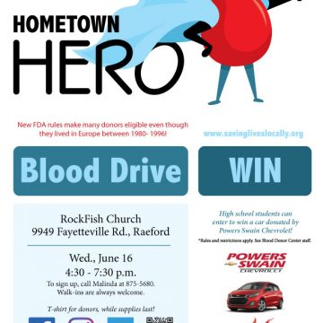 Upcoming blood drives seek donors to help save lives