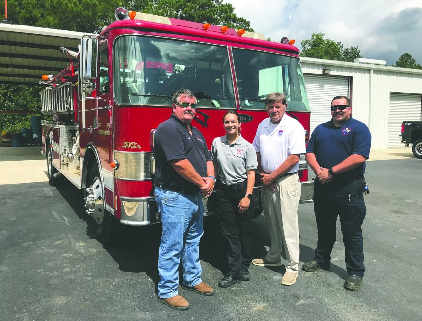 Donated fire truck will help teach next generation of firefighters