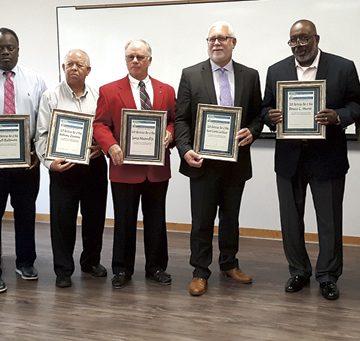 Nine chosen as 'Meritorious Men of Hoke'