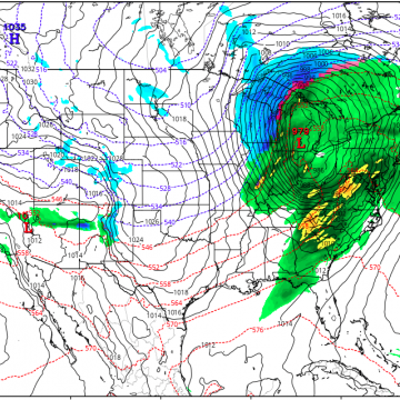Severe storms a possibility early Monday