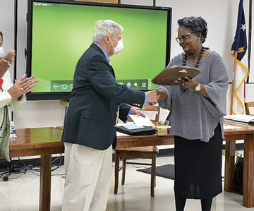 Richards' contribution to education celebrated