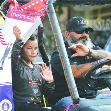Parade, service honor veterans for Memorial Day